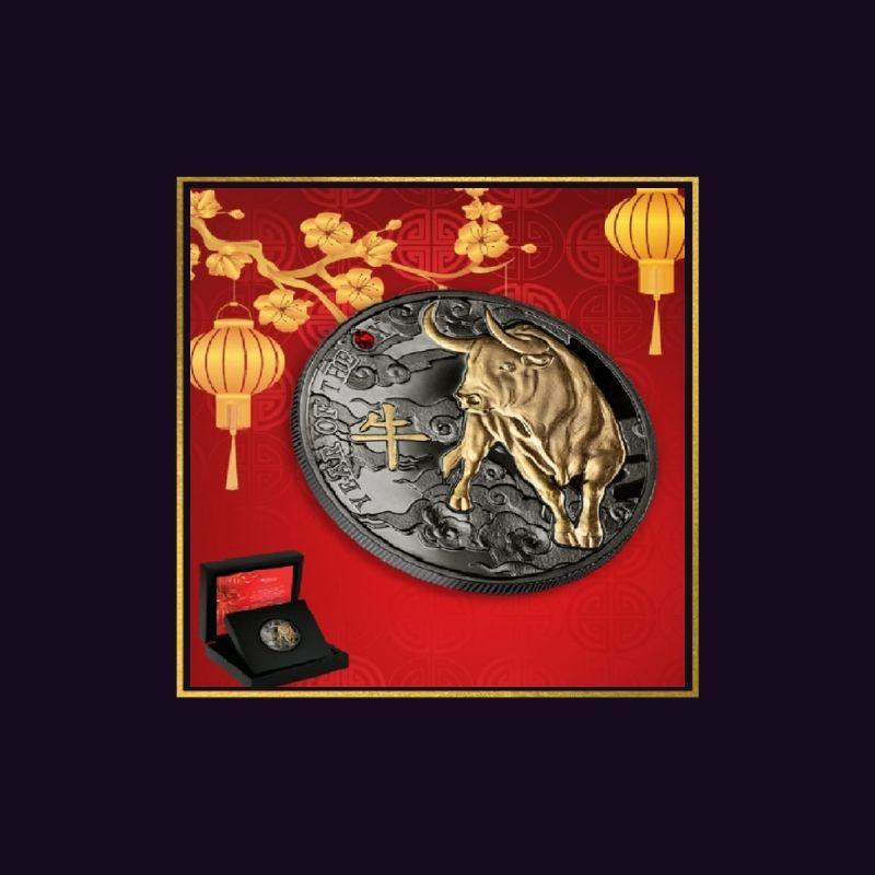 Melnais vērsis 2021- kolekcijas monēta